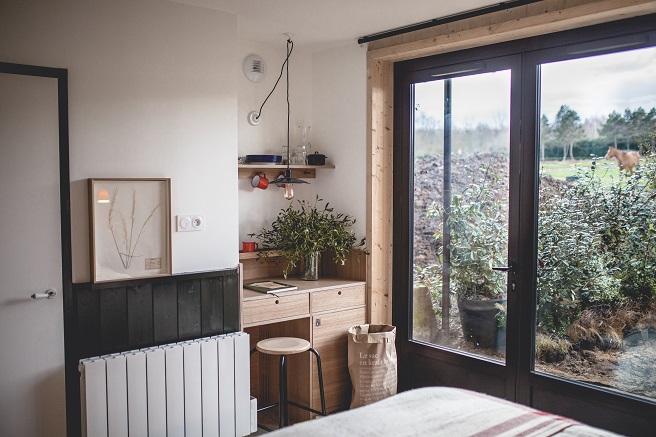 chambre avec fenêtre le barn
