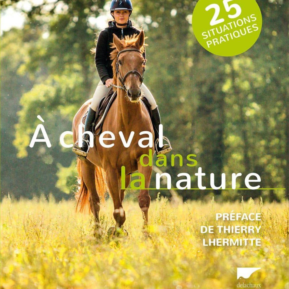 À cheval dans la nature